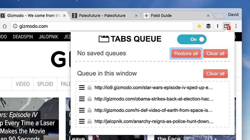 tabs-queue