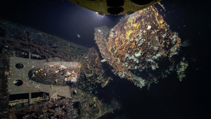 Submarino alemão retratado em 'Os Caçadores da Arca Perdida' é descoberto no Atlântico