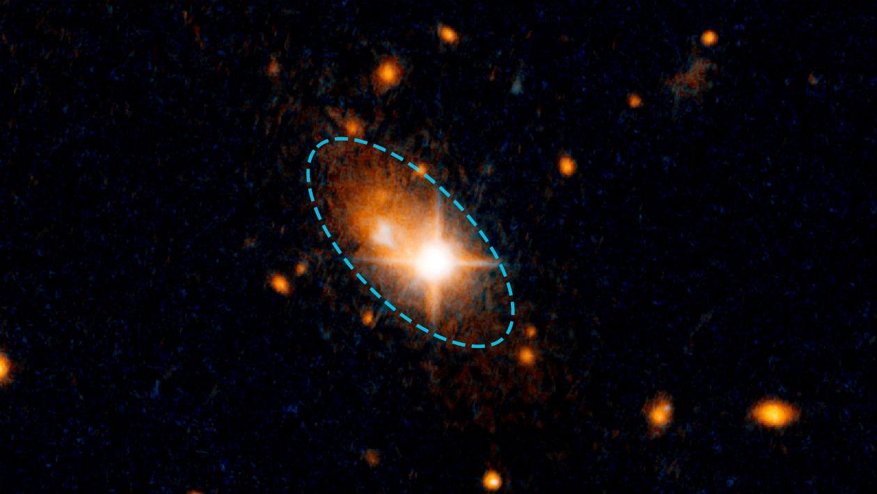 Por que diabos esse enorme buraco negro está vagando pelo espaço?