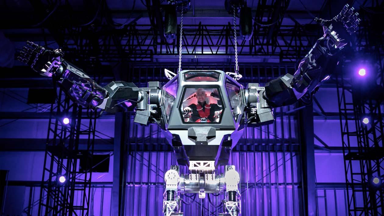 Este exoesqueleto maluco dá super poderes a jovens estudantes (na verdade, a qualquer pessoa)