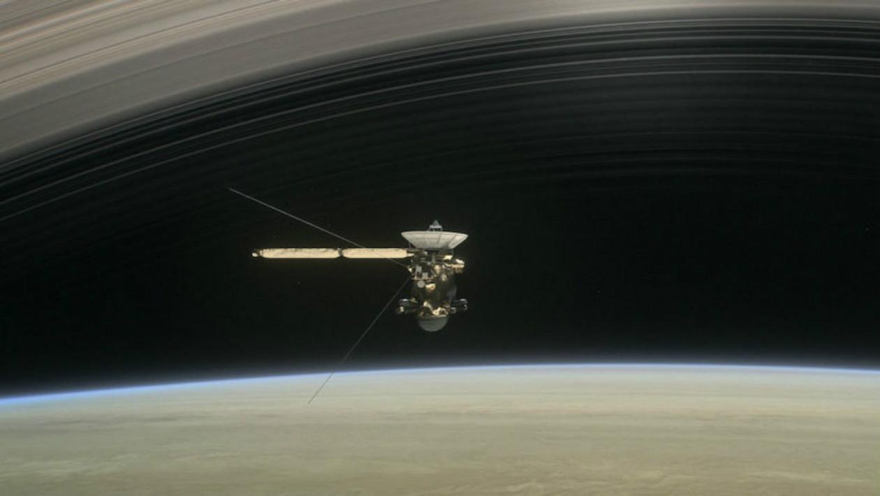 """Este é o primeiro """"som"""" que capturamos do vazio arrepiante dentro dos anéis de Saturno"""