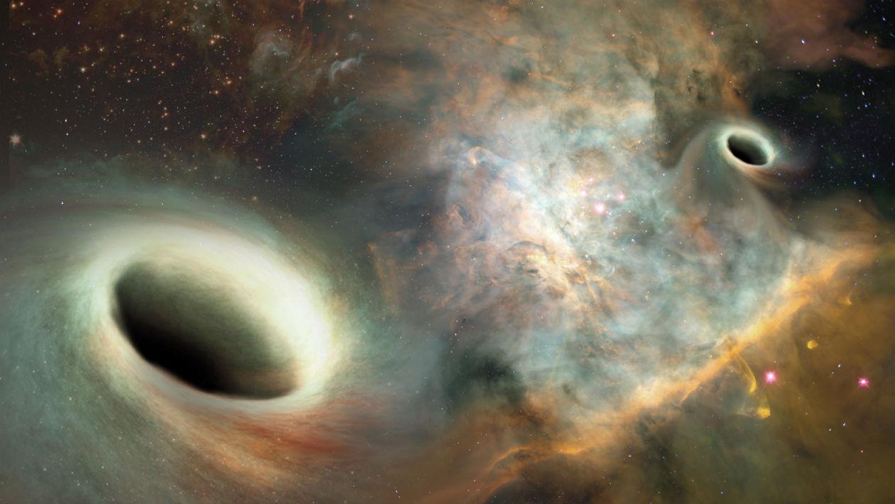Nova observação incrível mostra buracos negros supermassivos orbitando uns aos outros