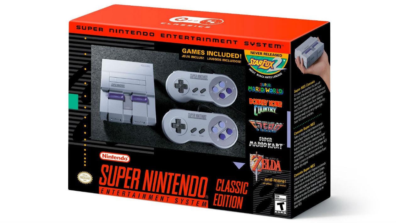 Edição clássica do Super Nintendo chega com 21 jogos em setembro