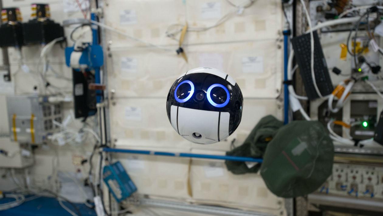 Esta câmera robótica flutuante é a coisa mais fofa já enviada ao espaço