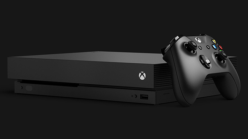 Xbox One X. Crédito: Microsoft