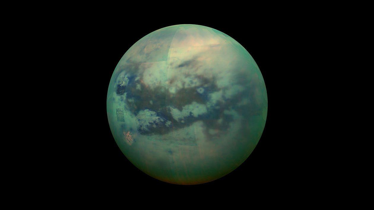 Essa sonda pode investigar o misterioso oceano da maior lua de Saturno