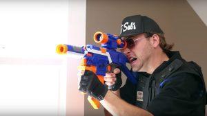 Armas Nerf podem ferrar os seus olhos, alertam médicos