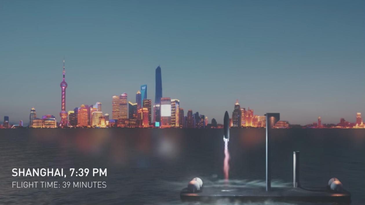Elon Musk anuncia novo foguete que vai te levar a qualquer lugar da Terra em menos de uma hora
