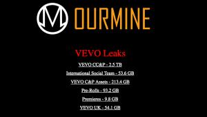 Hackers que tomaram Twitter da HBO agora roubam 3 TB de dados da Vevo