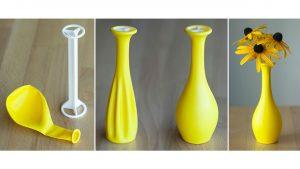 Este dispositivo impresso em 3D transforma bexigas em vasos