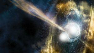Observatórios detectam ondas gravitacionais nascidas de fusão de estrelas de nêutrons