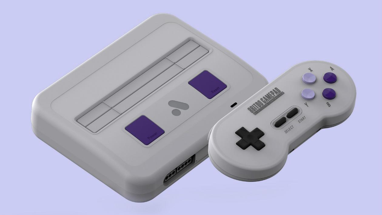 Este clone do SNES roda todos os jogos do antigo console em alta definição
