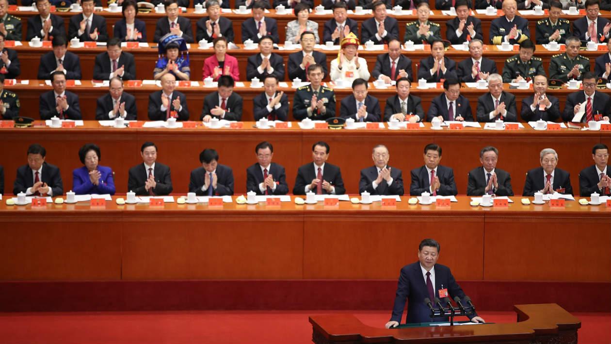 O mais novo sucesso dos jogos mobile na China pede aos jogadores que aplaudam o presidente