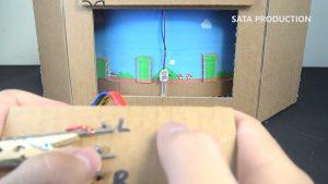 Deixe o Switch pra lá e construa você mesmo esta versão de papelão de Super Mario