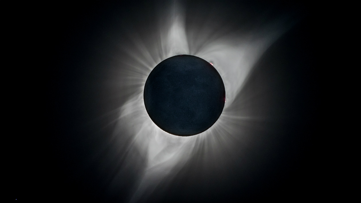 """O eclipse de agosto deixou um """"rastro"""" na atmosfera superior da Terra"""