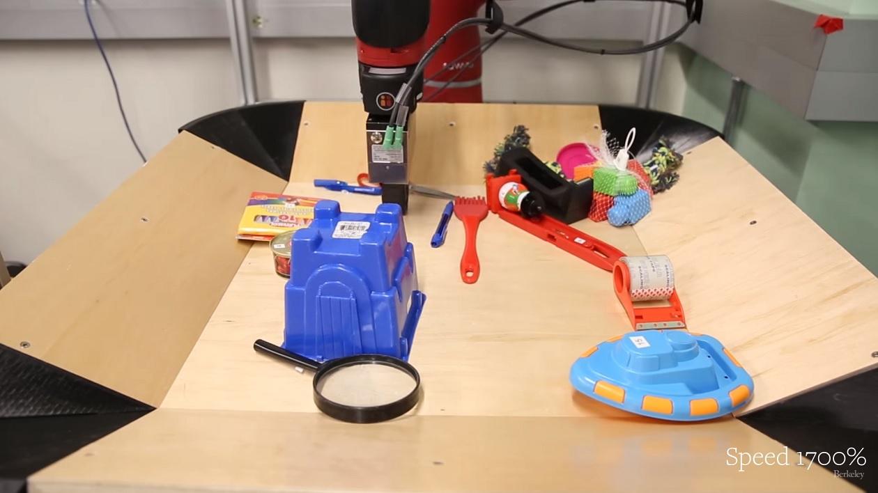 Robô usa inteligência artificial para