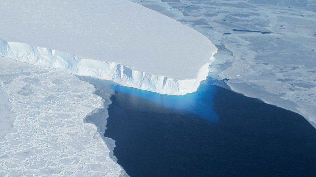 Mudanças climáticas estão afundando a base dos oceanos