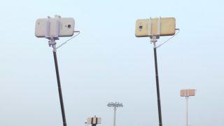National Flag Flies At Half-mast To Mourn The Death Of Wan Li