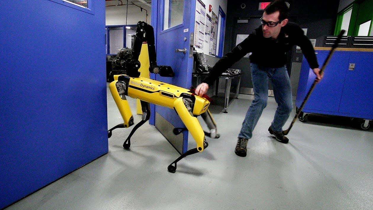 Cachorro robótico Spot, da Boston Dynamics