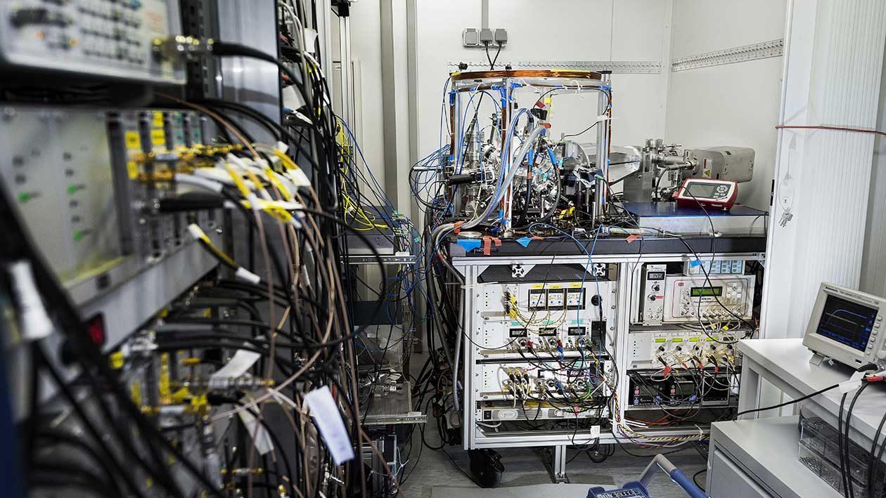 Relógio atômico portátil faz suas primeiras medições