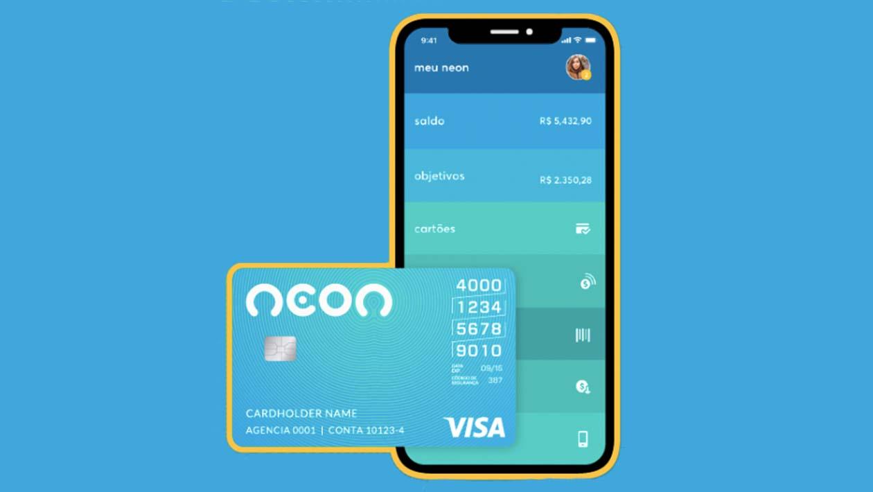 Banco Neon lança cartão de crédito sem anuidade para concorrer com Nubank