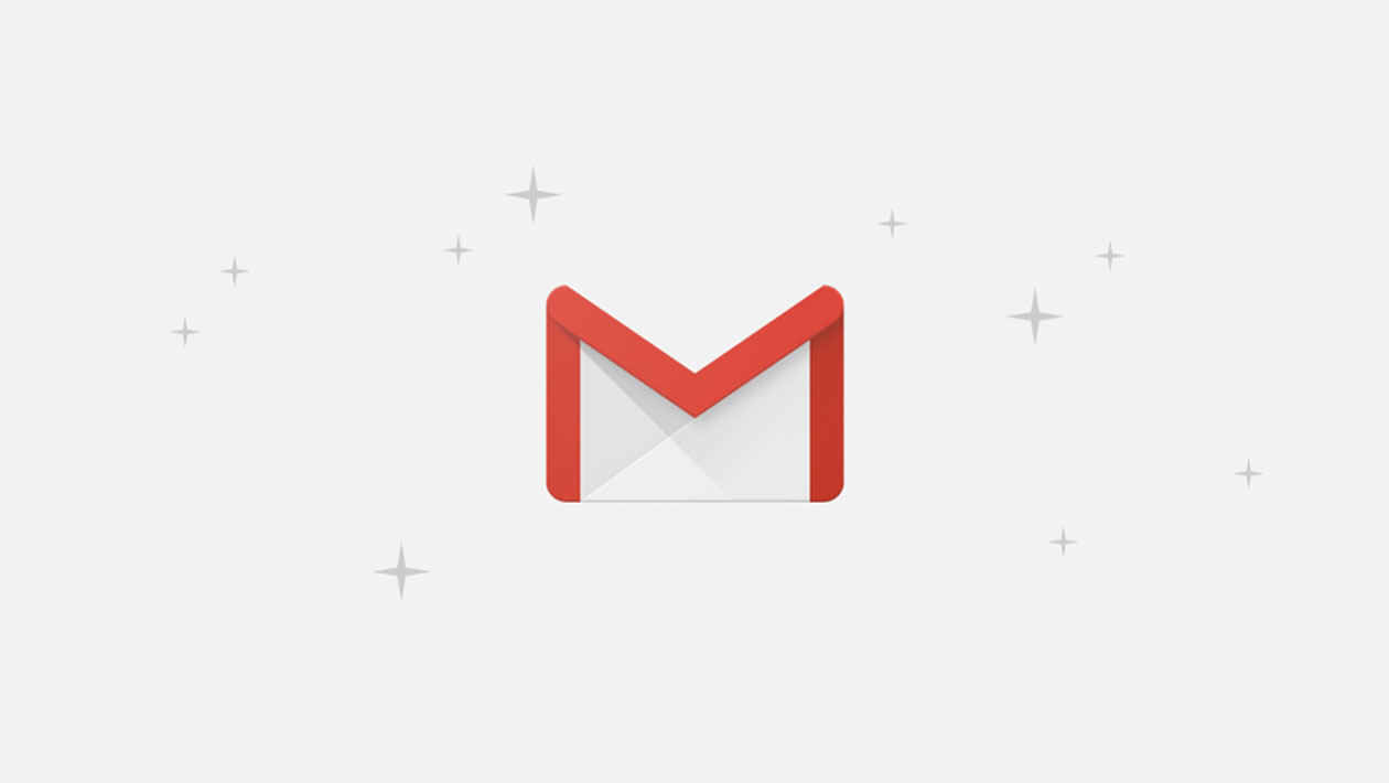 Logo do Gmail -- um envelope com as bordas destacadas em vermelho, formando a letra M