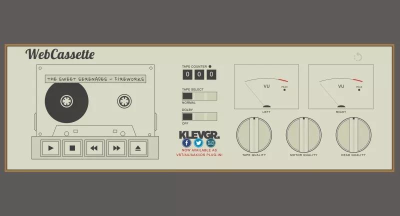 Este simulador de fita cassete faz seus MP3 parecerem que estão tocando num Walkman