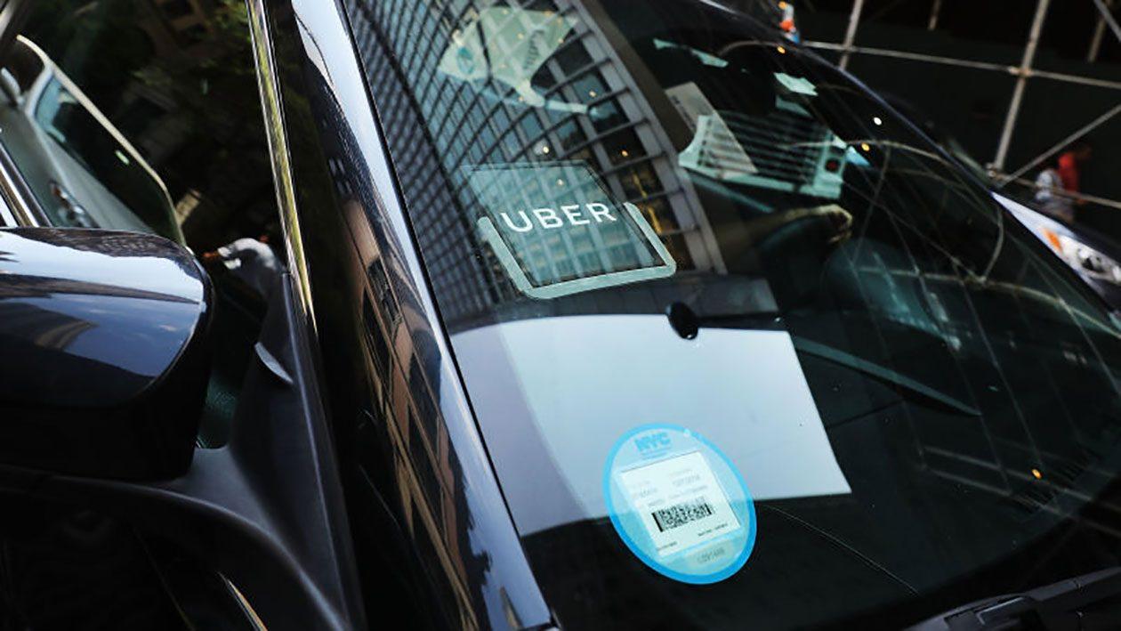 Uber - Magazine cover