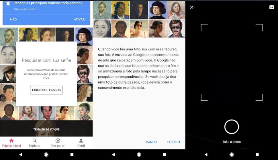 Art Selfie: Google ajuda a achar obra de arte que mais se parece com você