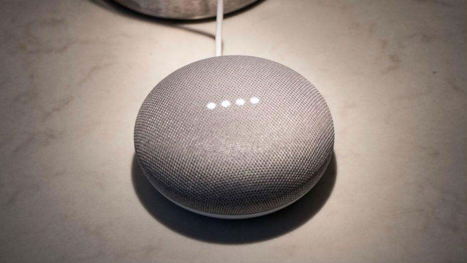Google Home ativado