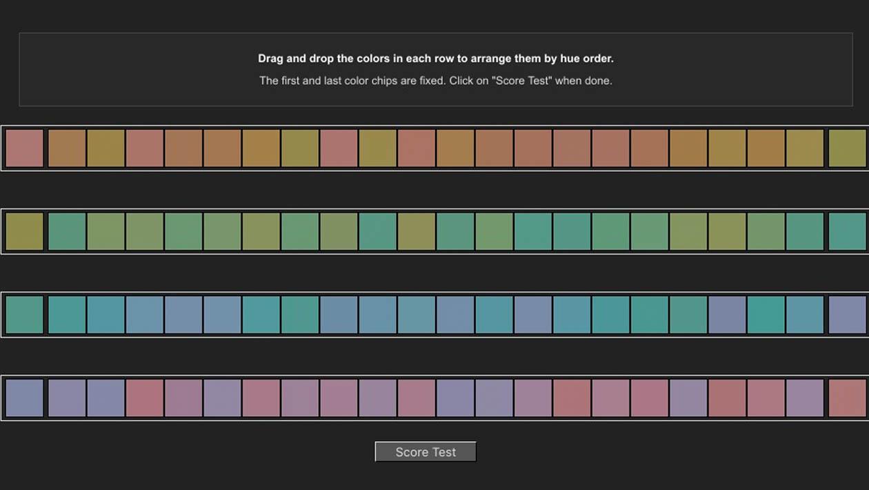 Faça estes testes para saber se você enxerga bem as cores
