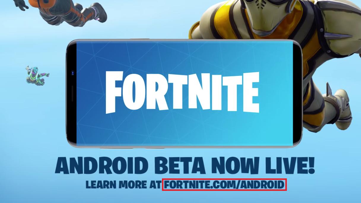 Por um tempo, usuários Android só podiam baixar o Fortnite direto do site da companhia