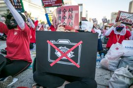 South Korean Women Rally Against Hidden Cameras