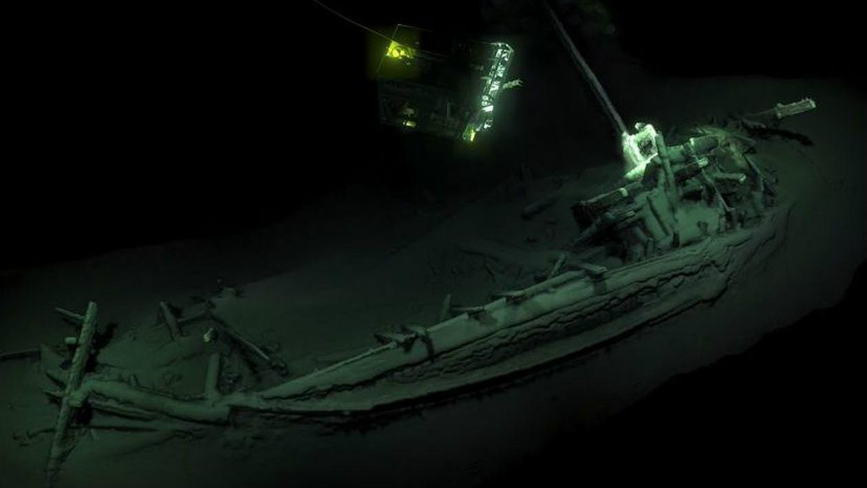 Tem Na Web - Descoberto depois de 2.400 anos, navio naufragado é o mais antigo do mundo a ser encontrado intacto