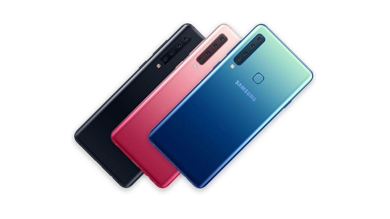 0d6f405ddd Galaxy A9 é o celular da Samsung com quatro câmeras na traseira