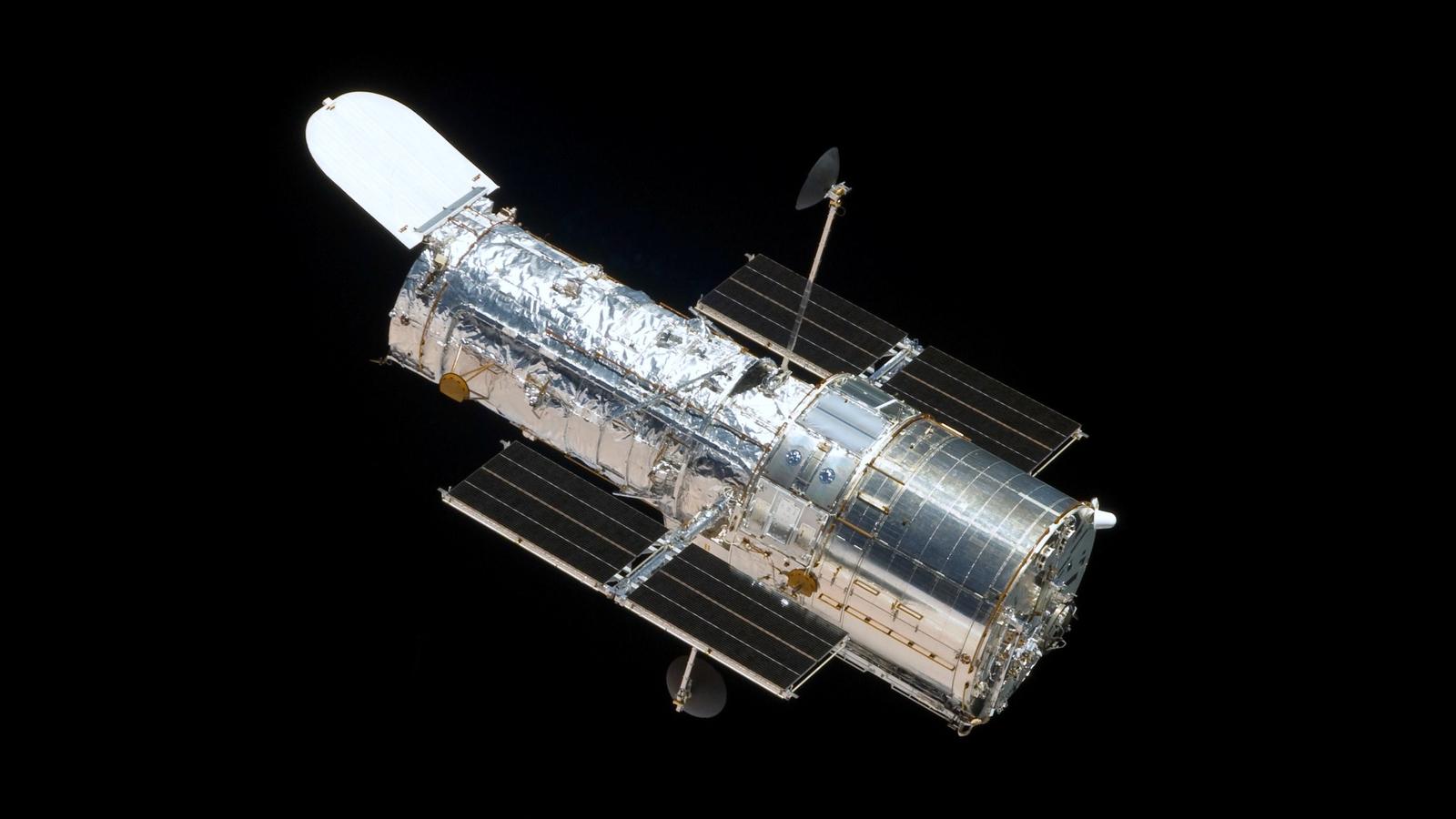 Telescópio espacial Hubble. Crédito: NASA/ESA