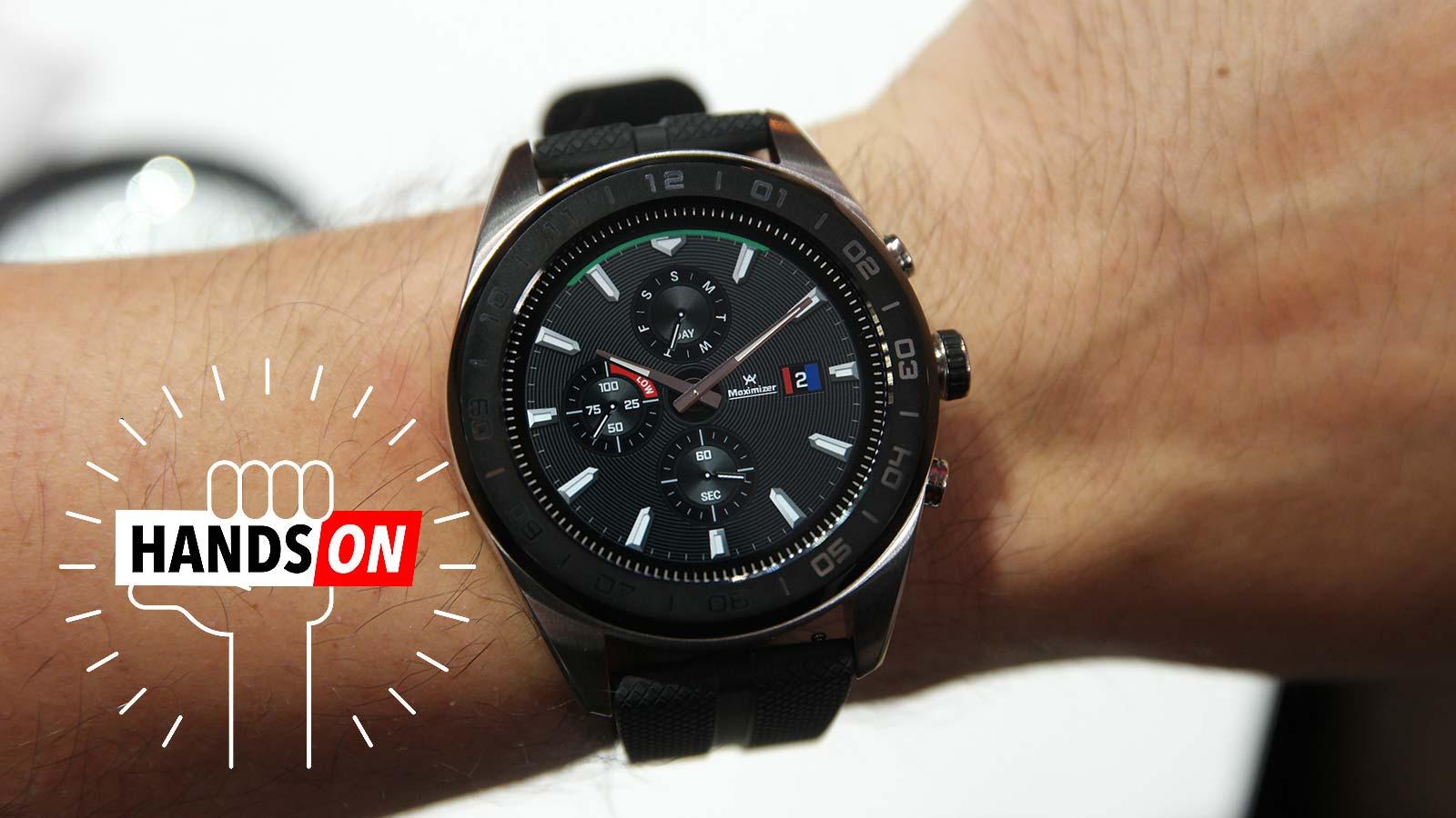 c6516d3cfd825 Novo relógio inteligente da LG é um mix caótico do novo e do velho