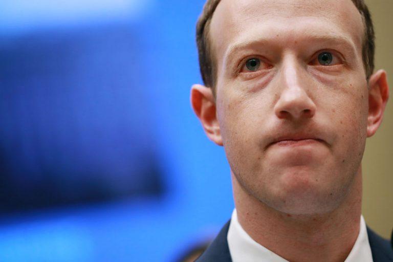 mark zuckerberg 768x512 - Departamento de Justiça dos EUA poderá abrir investigação antitruste sobre o Facebook