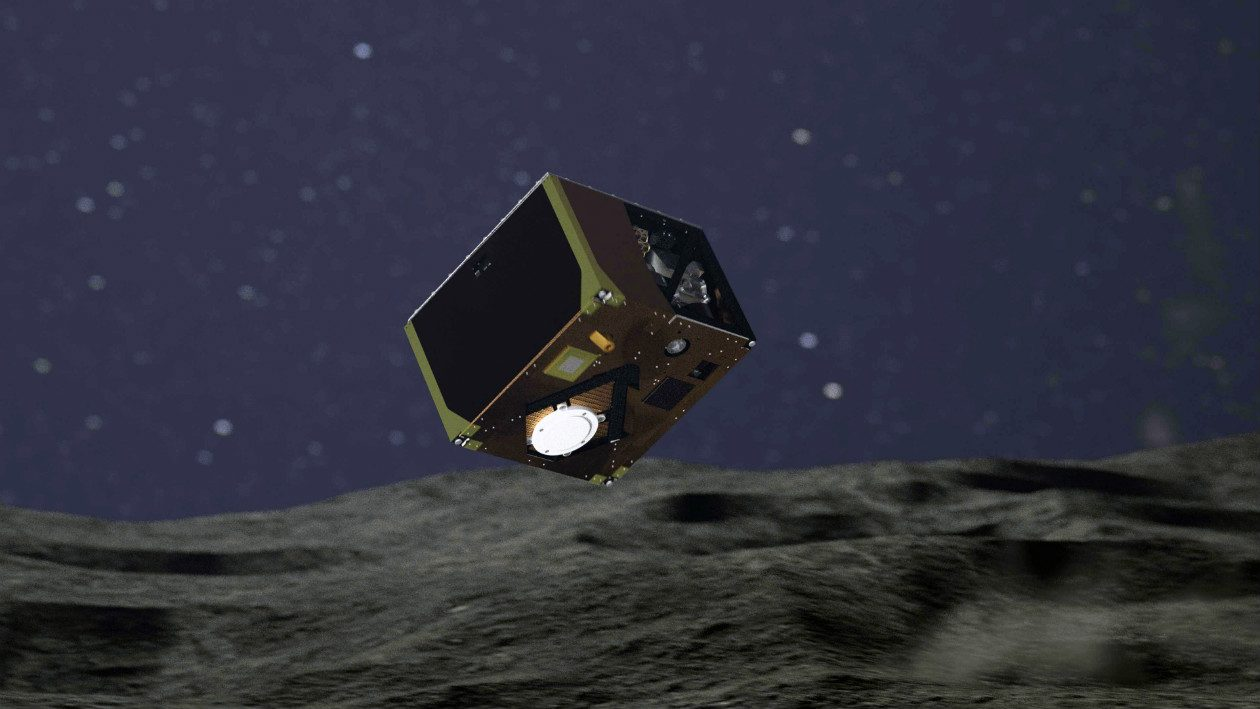 Uma terceira sonda pousou no asteroide Ryugu — mas ela tem apenas 16 horas de vida