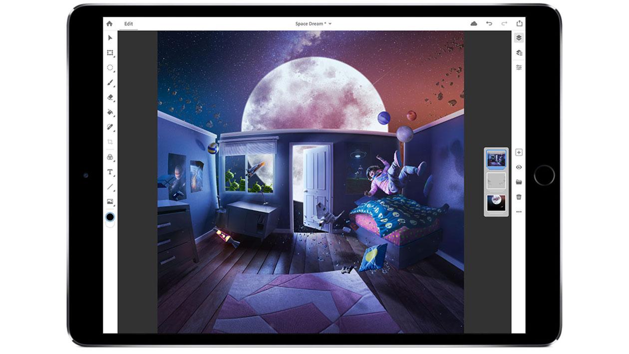 iPad ganhará versão completa do Adobe Photoshop no ano que