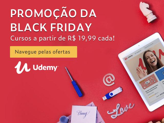 Ja E Black Friday Em Parceria Com O Gizmodo Brasil Udemy Oferece Cursos A R 19 99 Gizmodo Brasil
