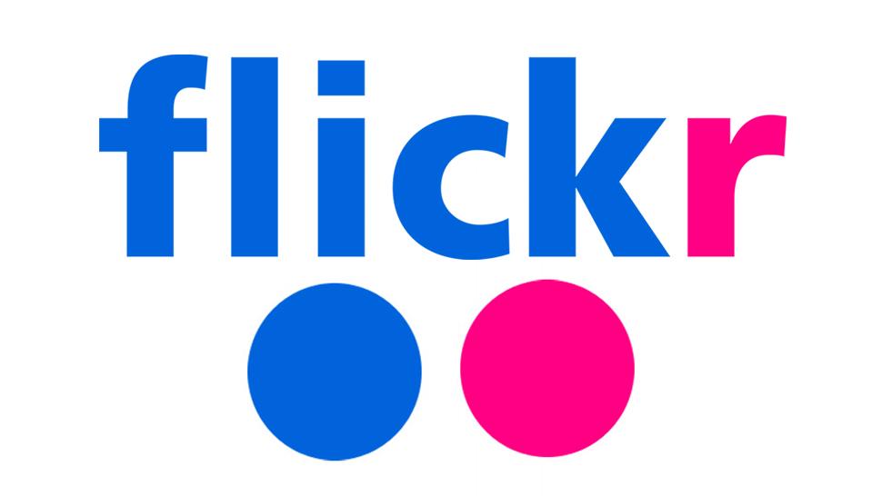 Logotipo do serviço de fotos Flickr.
