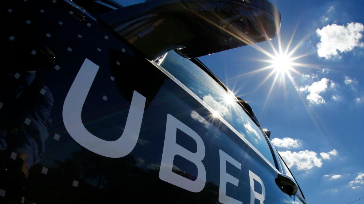 Logotipo da Uber