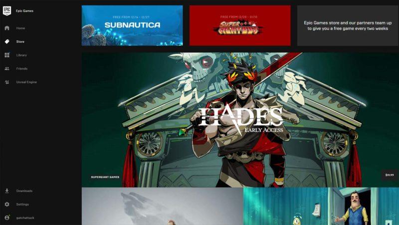 Epic Games lança loja para concorrer com Steam e promete jogos