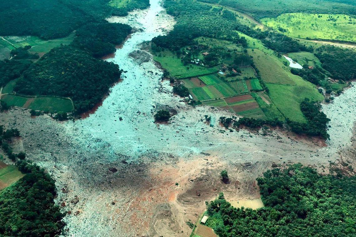 Antes e depois: estrago causado pelo rompimento de barragem da Vale em Brumadinho espanta - Gizmodo Brasil