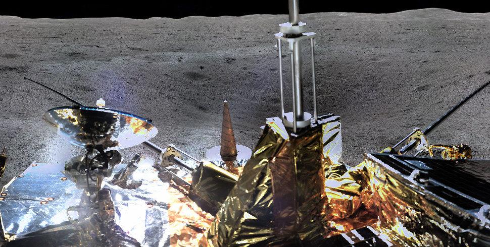 - change 4 2 970x490 - Isso aqui é só um pedaço da primeira imagem panorâmica do lado oculto da Lua capturada por sonda chinesa