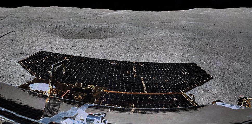 - change 4 3 970x479 - Isso aqui é só um pedaço da primeira imagem panorâmica do lado oculto da Lua capturada por sonda chinesa
