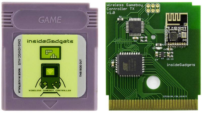 Este cartucho modificado transforma seu Game Boy Color ou Advance em um controle sem fio Gameboy-remote-800x450