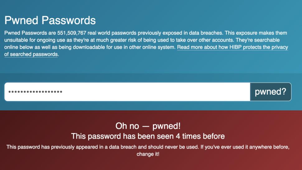 - have i been pwned password senha 970x546 - Vazamento de dados gigantesco expõe mais de 772 milhões de e-mails e 21 milhões de senhas