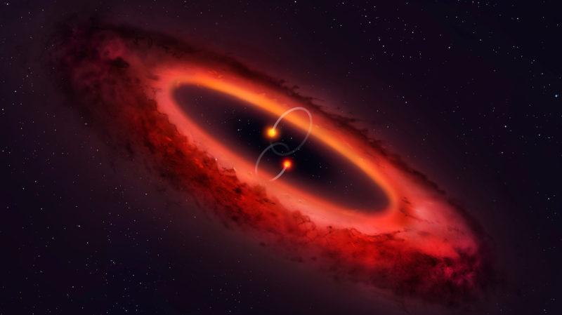 Este sistema quádruplo de estrelas não parece com nada do que já vimos